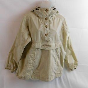 Columbia Womens Hooded Jacket Lightweight Nylon Sm